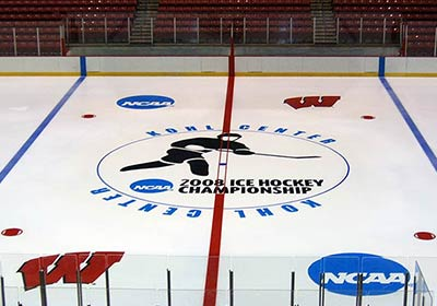 Ice Arena Painting