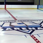 Ice Arena Painting: Mcfarland Ice Rink